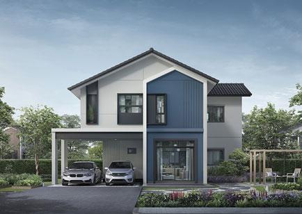โครงการบ้านไม่เกิน 4 ล้าน บ้านเดี่ยวและบ้านแฝด อณาสิริ กรุงเทพ-ปทุมธานี (Anasiri Krungthep-Pathumthani)