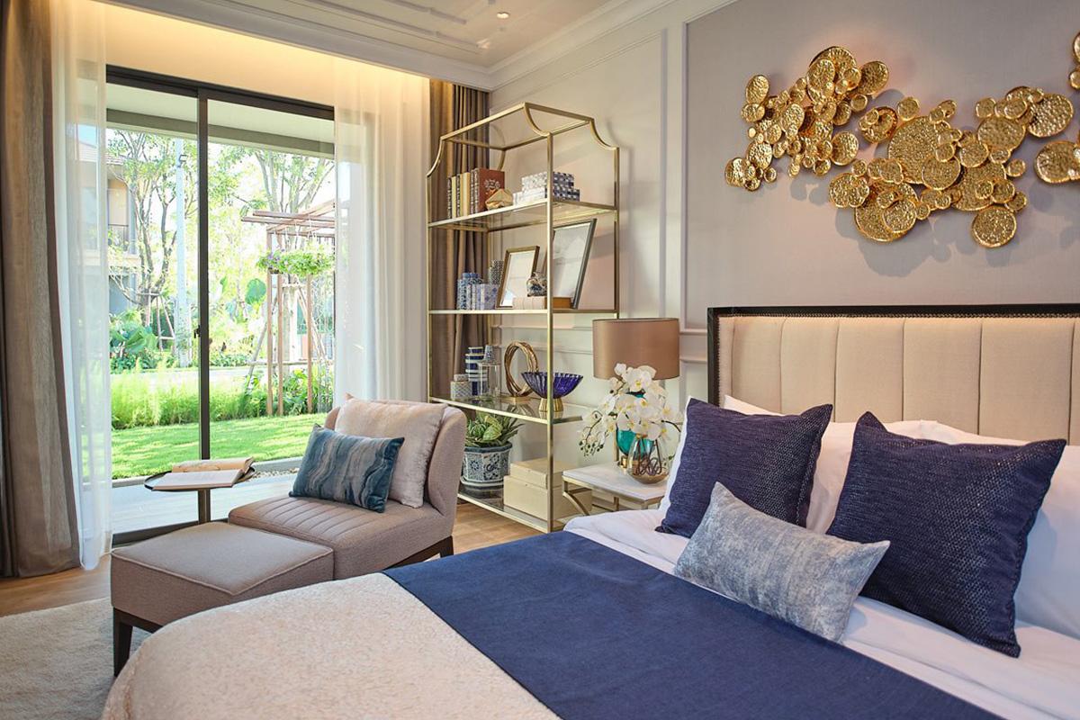 ห้องนอนล่าง ฟังก์ชันที่ออกแบบเพื่อผู้สูงอายุ – บุราสิริ พระราม 2