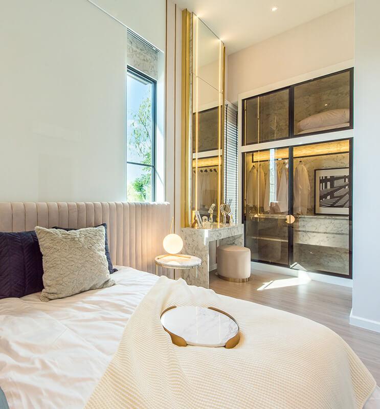 สิริ เพลส ประชาอุทิศ 90 ทาวน์โฮมฟังก์ชันบ้านเดี่ยวไม่เกิน 3 ล้าน - Double Master Bedroom