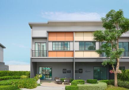 สิริ เพลส เวสต์เกต ทาวน์โฮมฟังก์ชันบ้านเดี่ยวไม่เกิน 3 ล้าน - แบบบ้าน